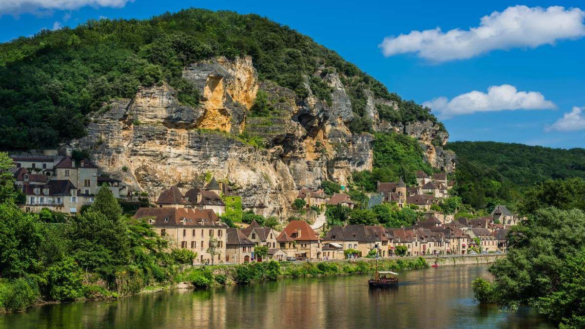 La Roque-Gageac Γαλλία
