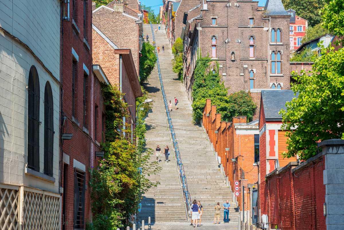 Montagne de Bueren, Βέλγιο, σκάλα