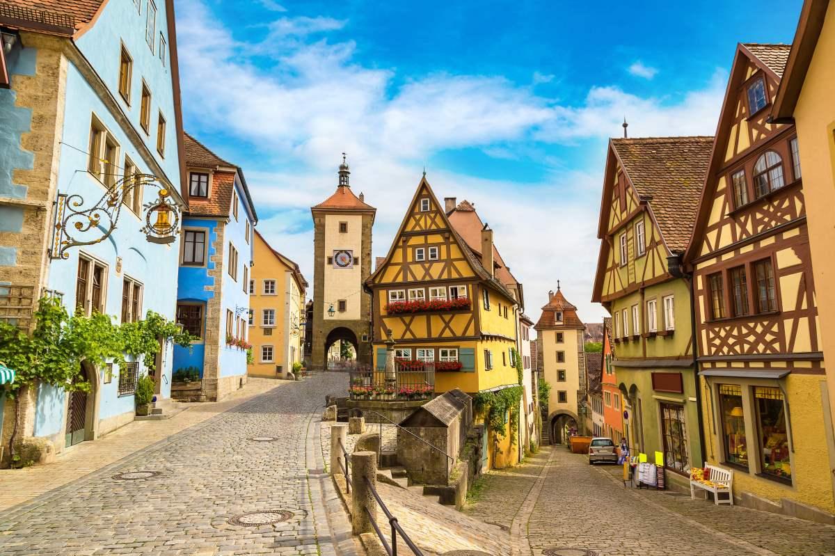 Ρότενμπουργκ, Είναι μία από τις ωραιότερες πόλεις της Βαυαρίας