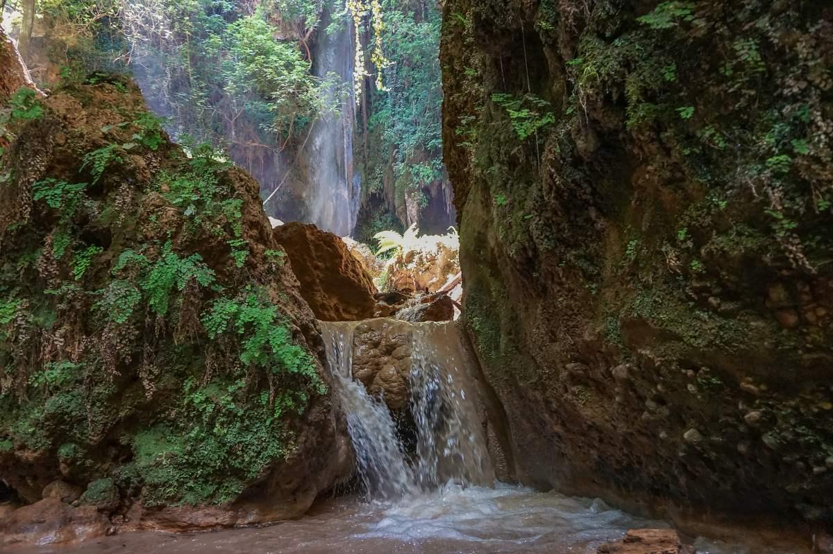 Καταρράκτες Νεμούτας, Ηλεία