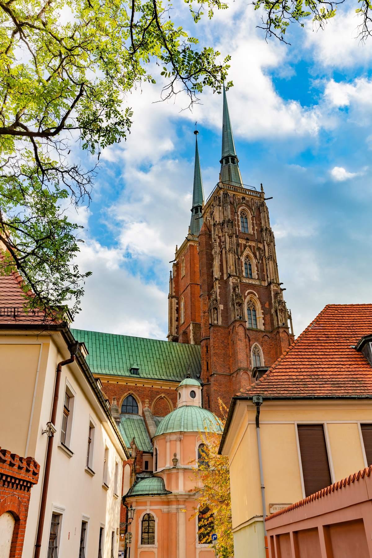 Βρότσλαβ Πολωνία κτήρια