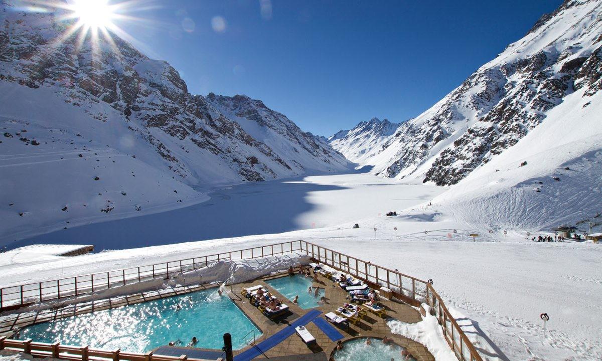 Portillo Hotel pool, Portillo, Χιλή