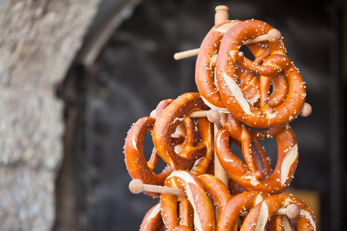 Pretzels, παραδοσιακό γερμανικό σνακ