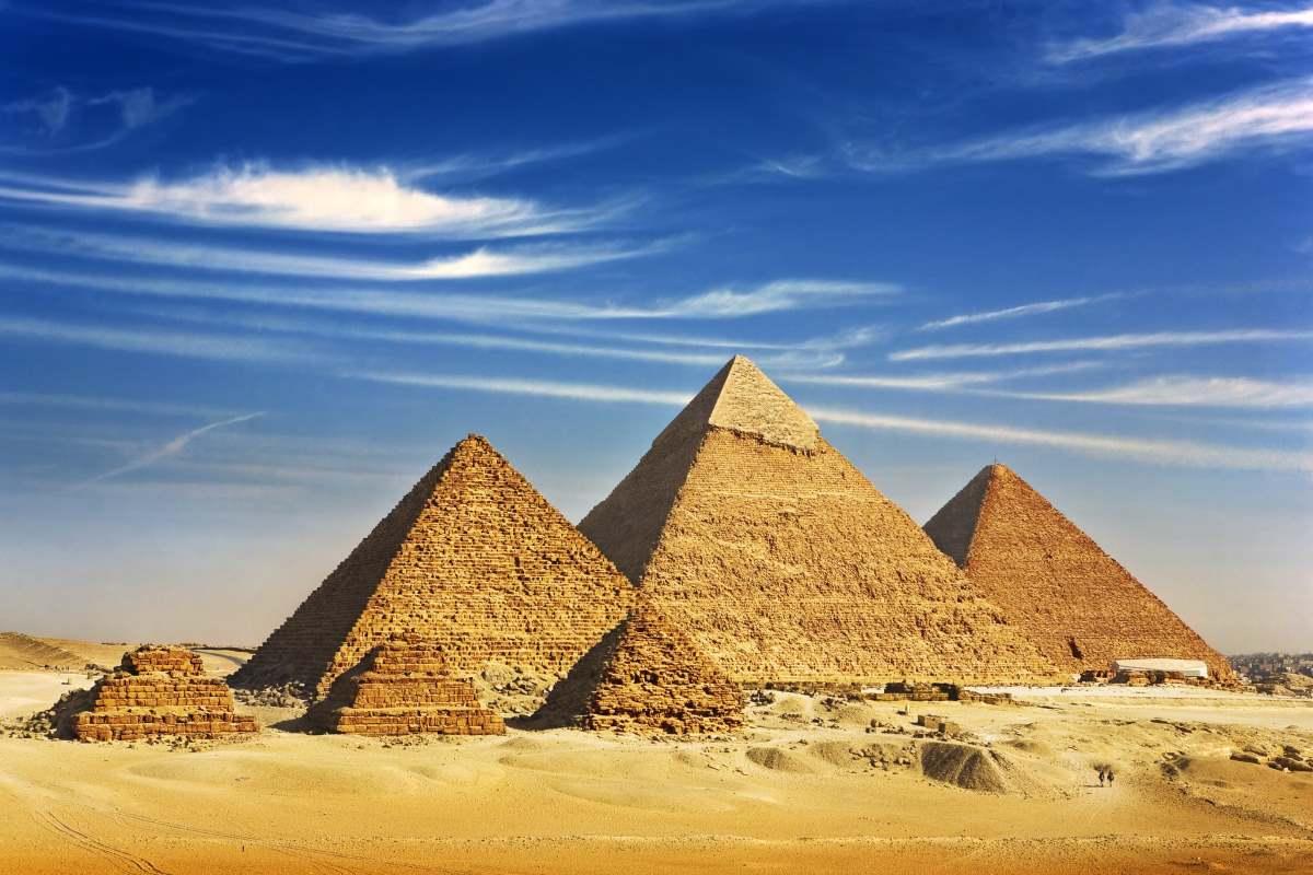 Πυραμίδες, Αίγυπτος