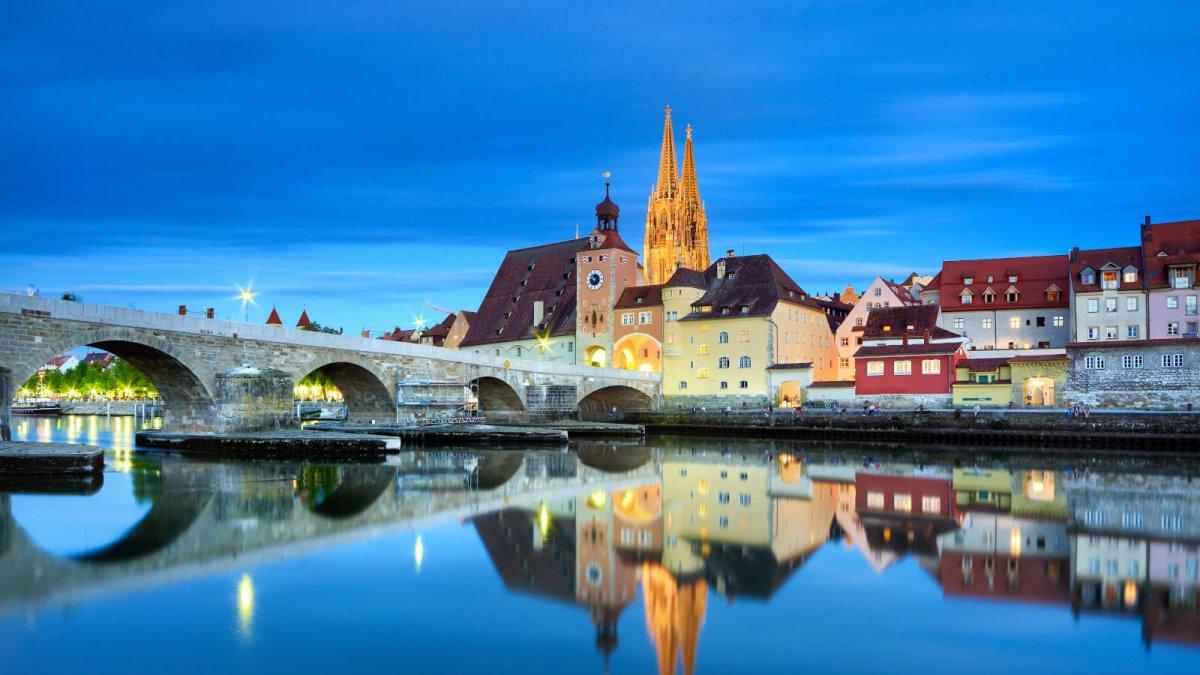 Το παραμυθένιο Regensburg της Γερμανίας