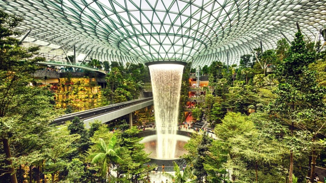 Changi αεροδρόμιο Σιγκαπούρης