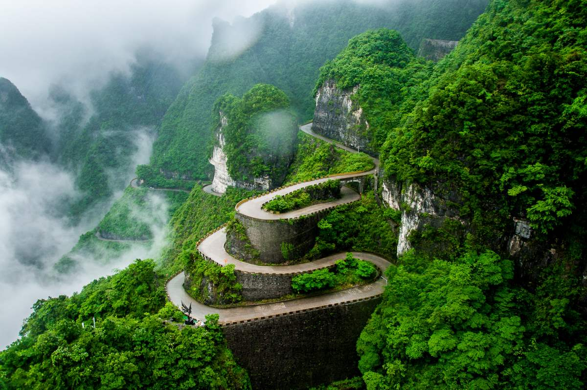 Tianmen Mountain, Κίνα