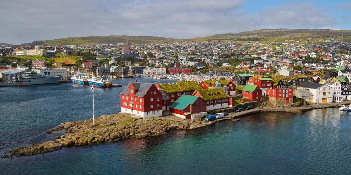 Torshavn κουκλίστικη πόλη Νήσοι Φερόε