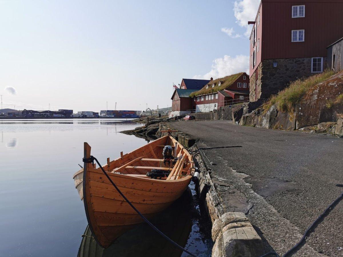 Πόλη Torshavn στα νησιά Φερόε