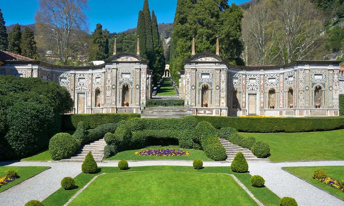 Villa d'Este, Λίμνη Κόμο, Ιταλία