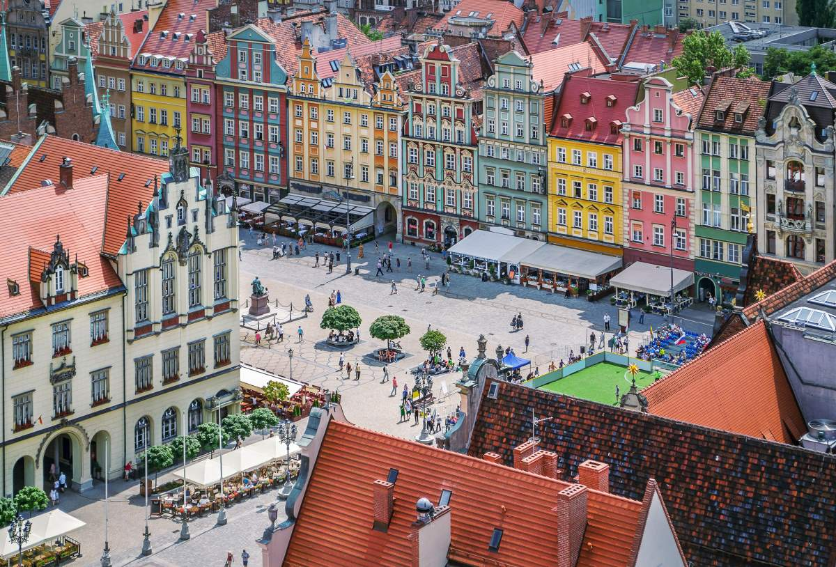 Βρότσλαβ Πολωνία κέντρο
