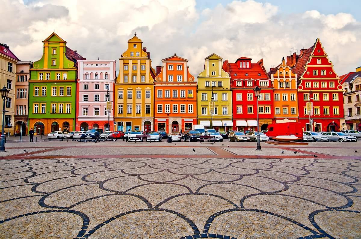 Βρότσλαβ Πολωνία κέντρο πόλης