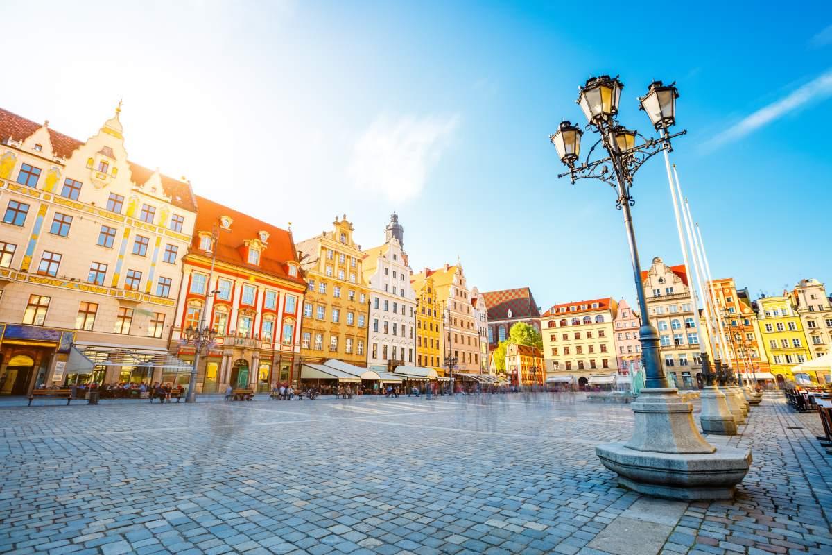 Βρότσλαβ Πολωνία, κεντρική πλατεία