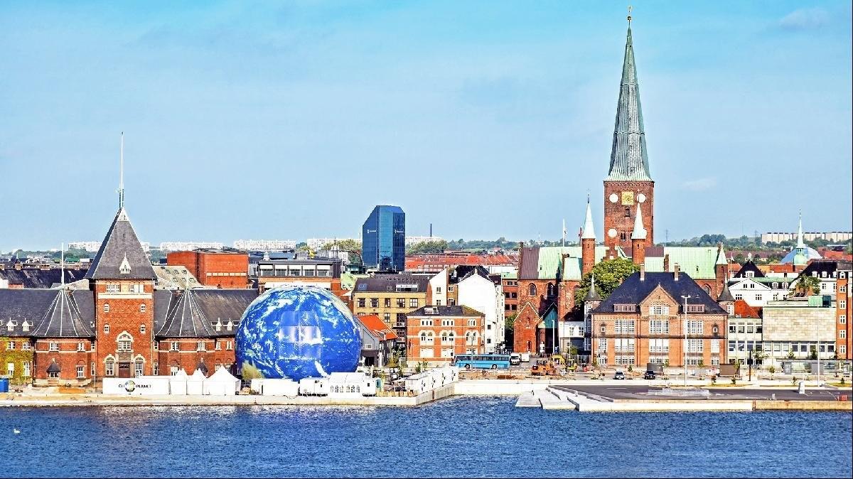 Άαρχους πόλη τσέπης στη Δανία
