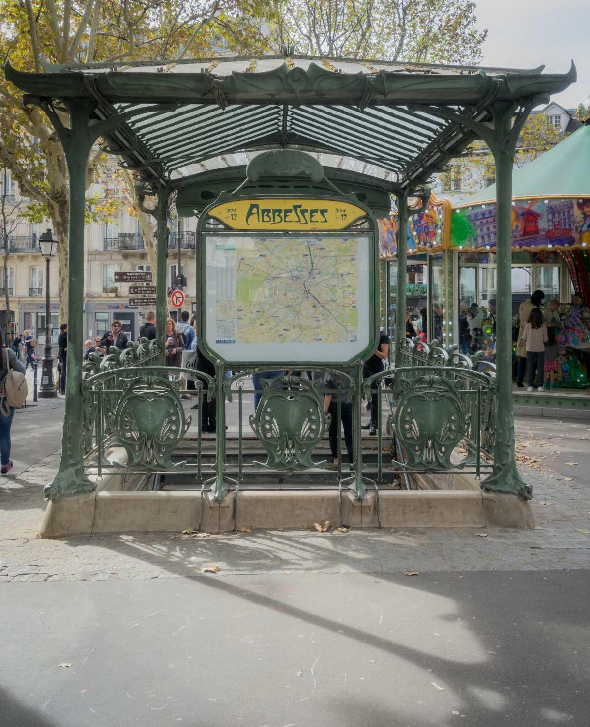 Les Abbesses, Μονμάρτη, Παρίσι