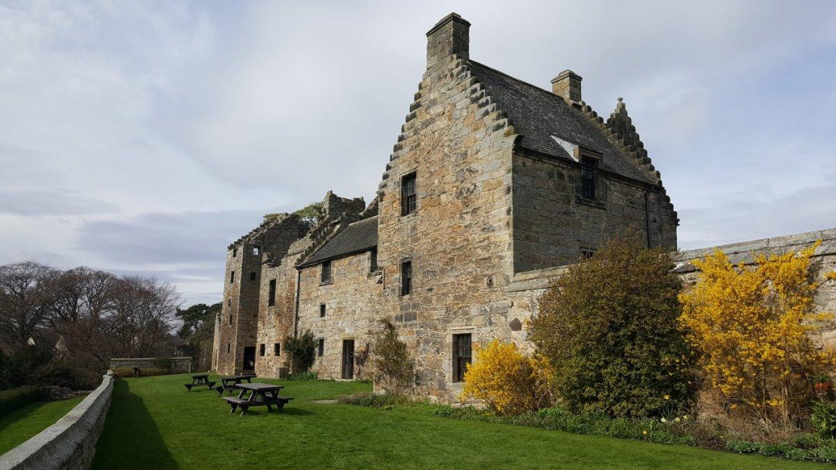 Aberdour, Σκωτία το περίφημο κάστρο
