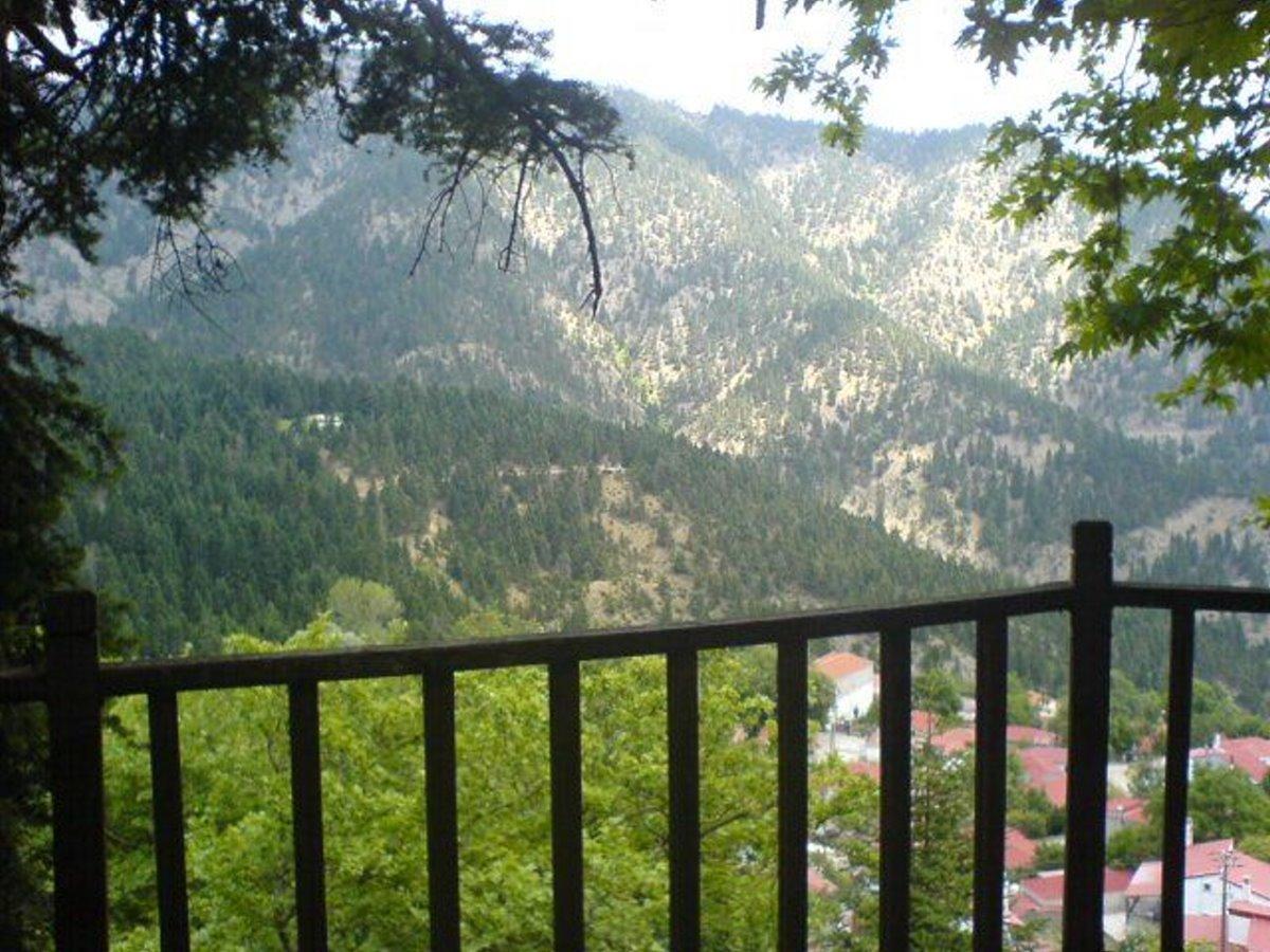 Άμπλιανη Ευρυτανία ορεινότερο χωριό