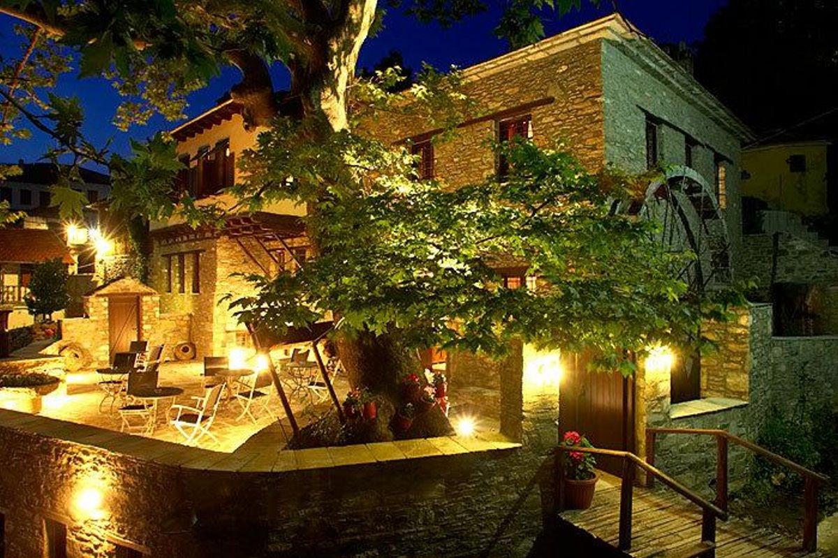 Άγιος Λαυρέντιος Πήλιο νύχτα
