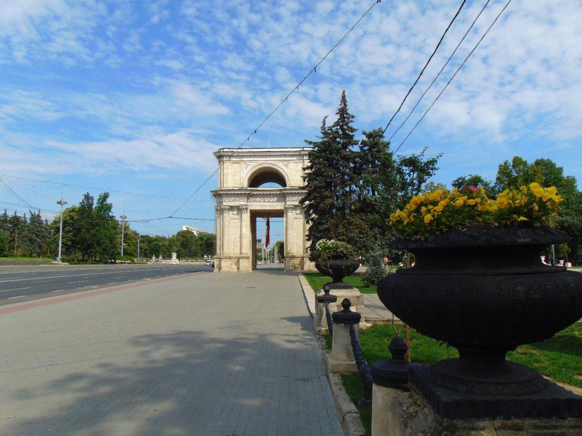 Αψίδα Θριάμβου Κινισάου Μολδαβία