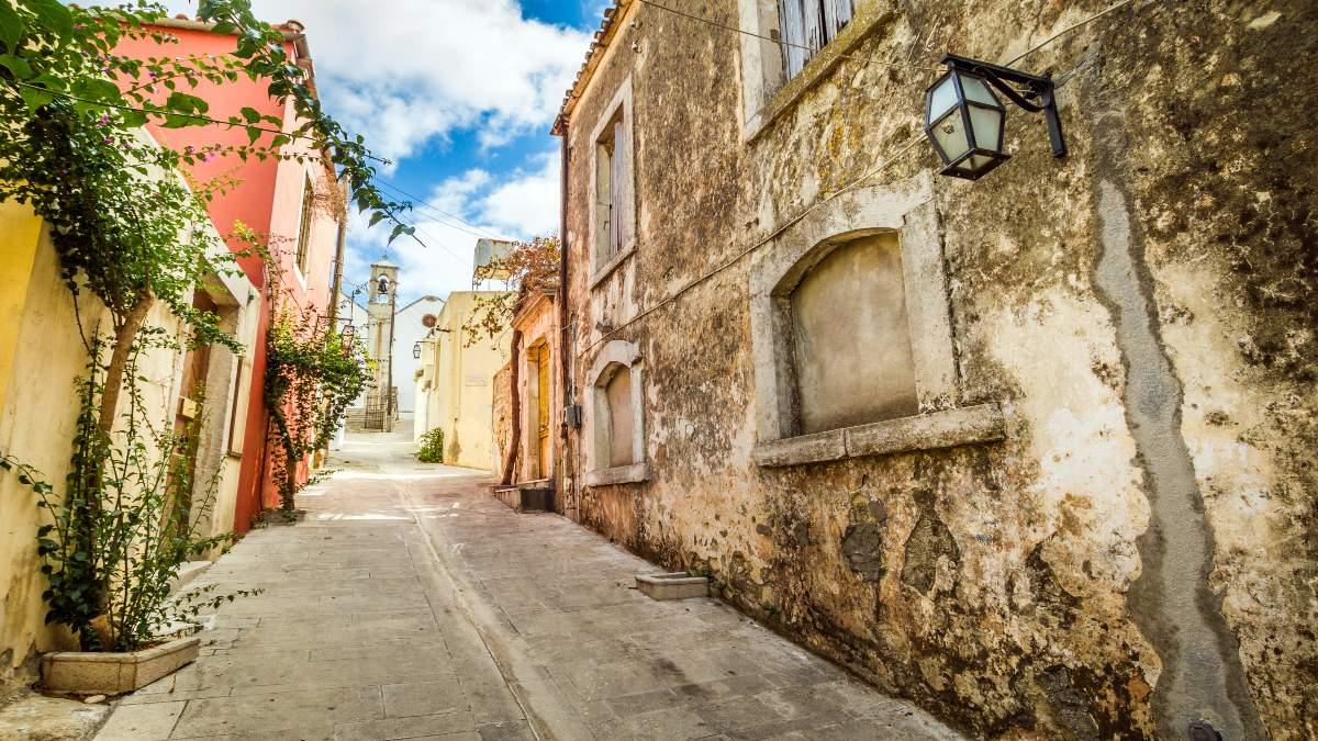 το πιο πολύχρωμο ελληνικο χωριό