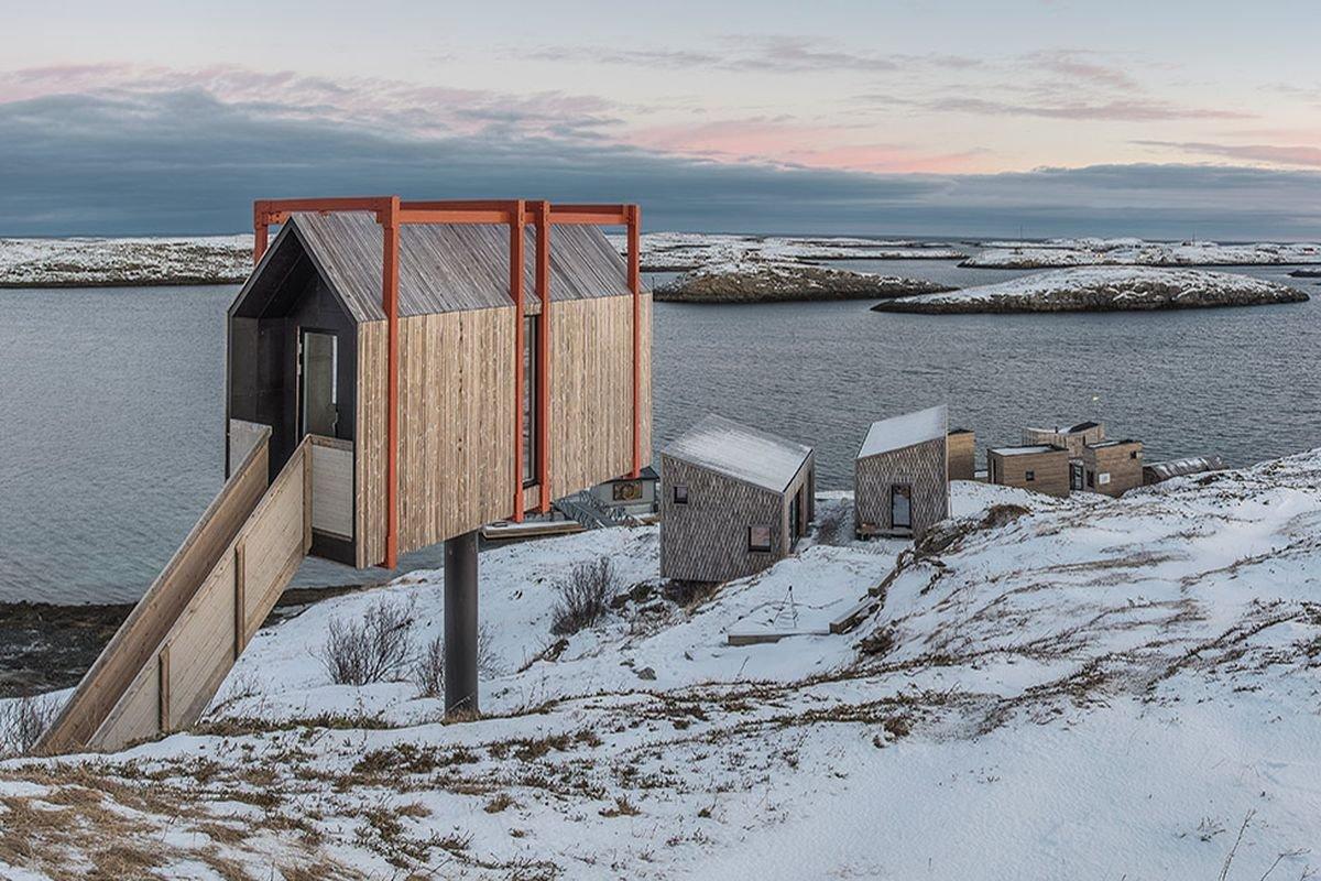 Νορβηγία - ξενοδοχείο The Arctic Hideaway