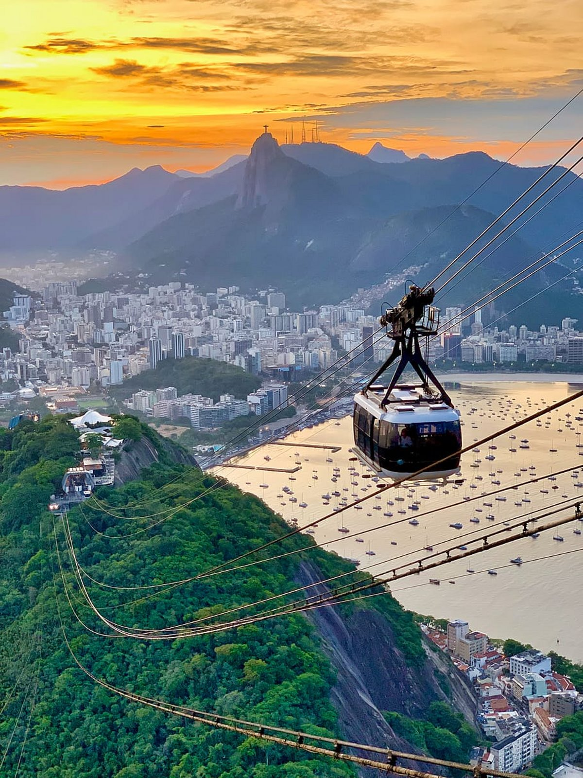 τελεφερίκ Bondinho, Ρίο ντε Τζανέιρο, Βραζιλία