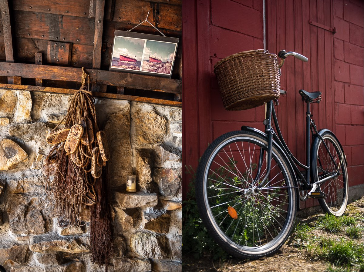 Bornholm όμορφο χωριό