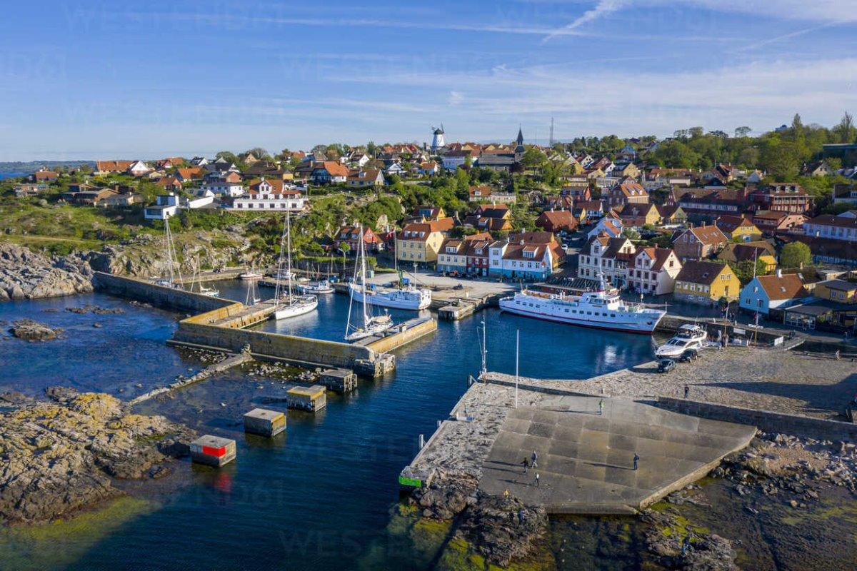 Bornholm λιμάνι