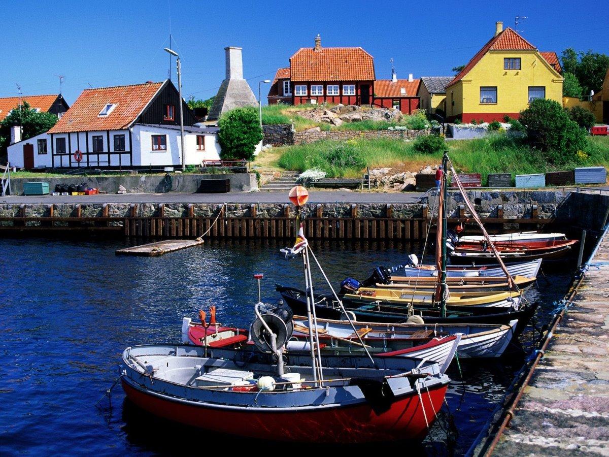 Bornholm κουκλίστικο νησάκι Δανίας