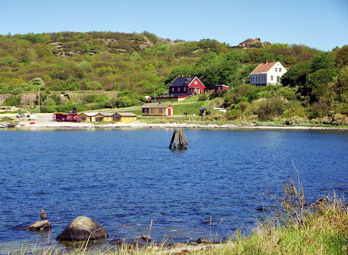 Bornholm γραφικό νησί Βαλτικής