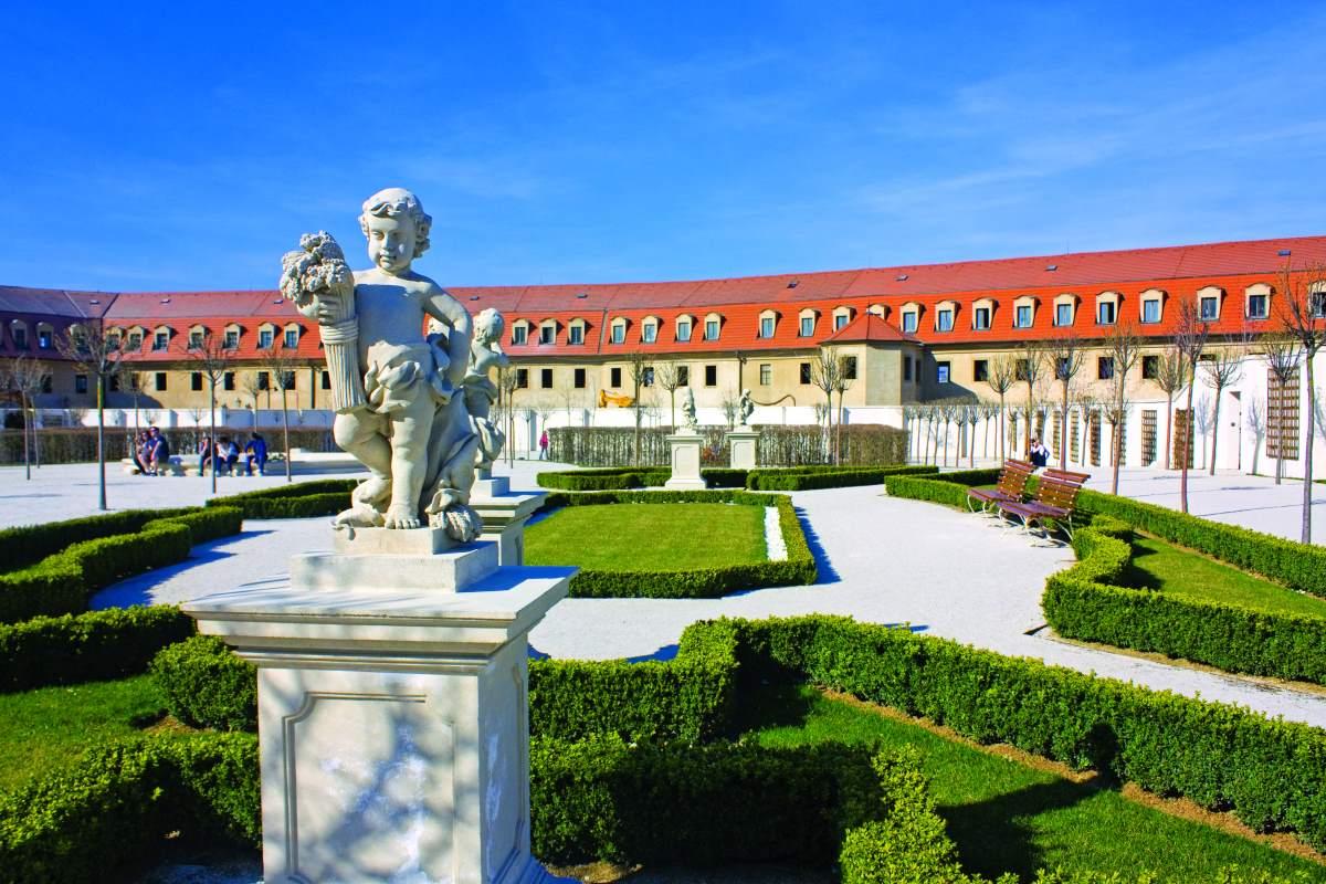 Οι μπαρόκ κήποι του Κάστρου της Μπρατισλάβα
