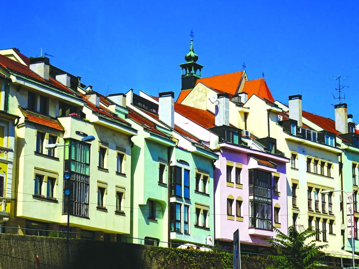 Τα πολύχρωμα κτίρια , Μπρατισλάβα