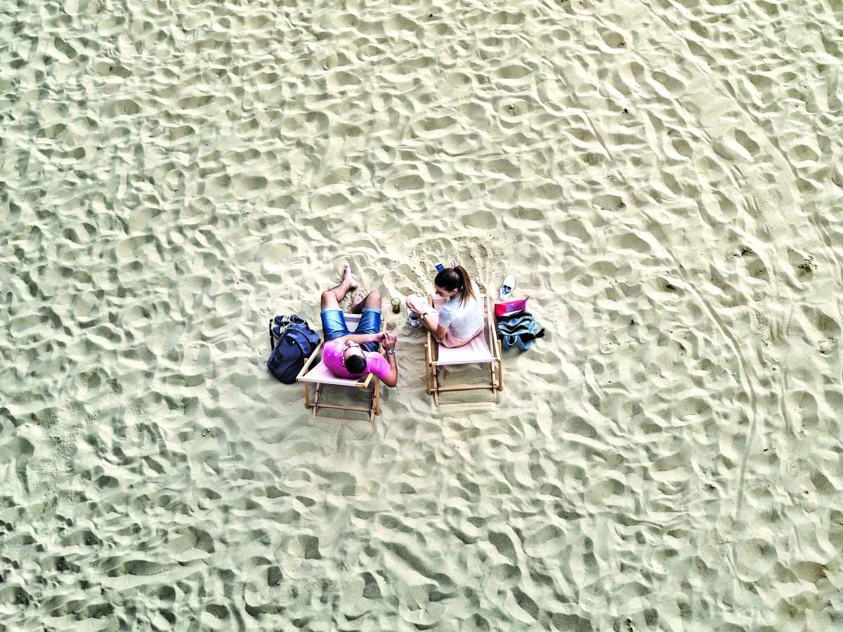 Τεχνητή παραλία στην Μπρατισλάβα