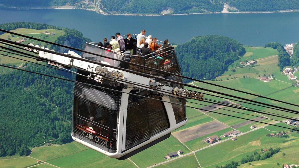 τελεφερίκ Cabrio, Ελβετία