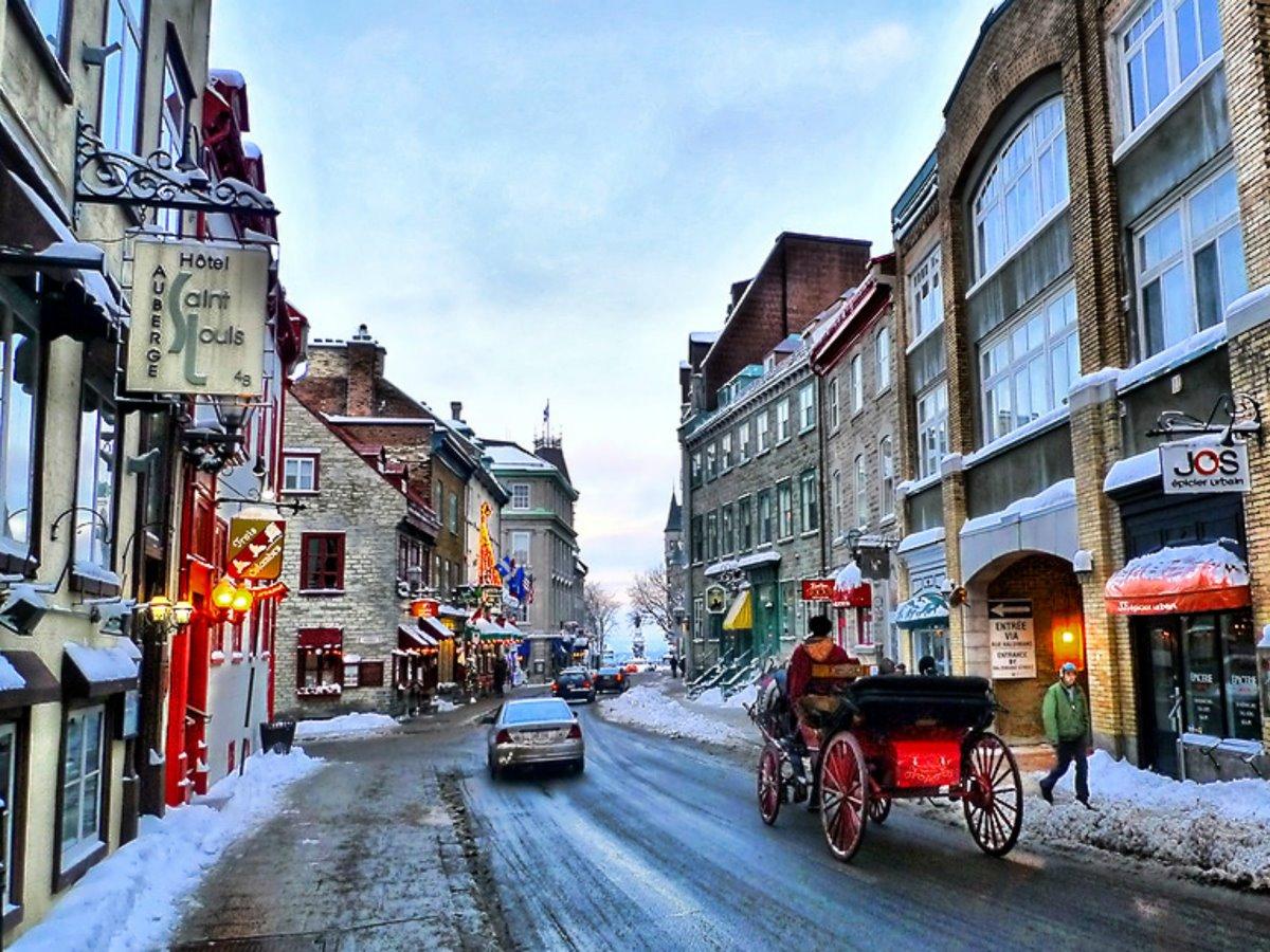 Κεμπέκ Καναδάς παλιά πόλη