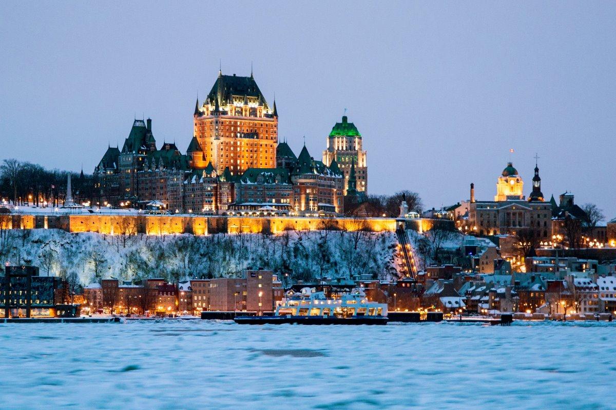 Κεμπέκ Καναδάς πόλη