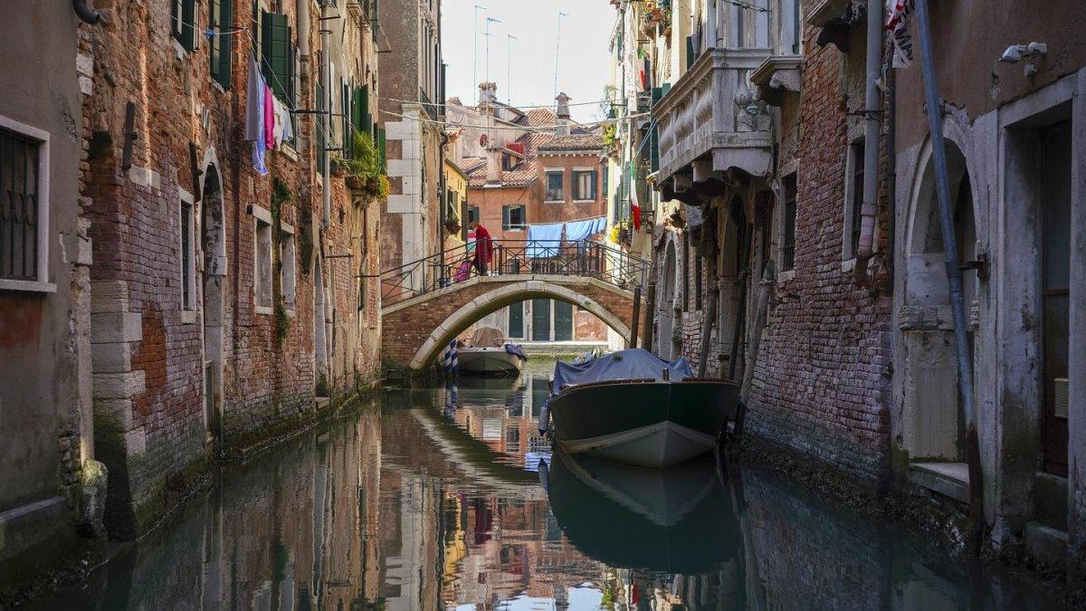 πόλη με κανάλια Βενετία