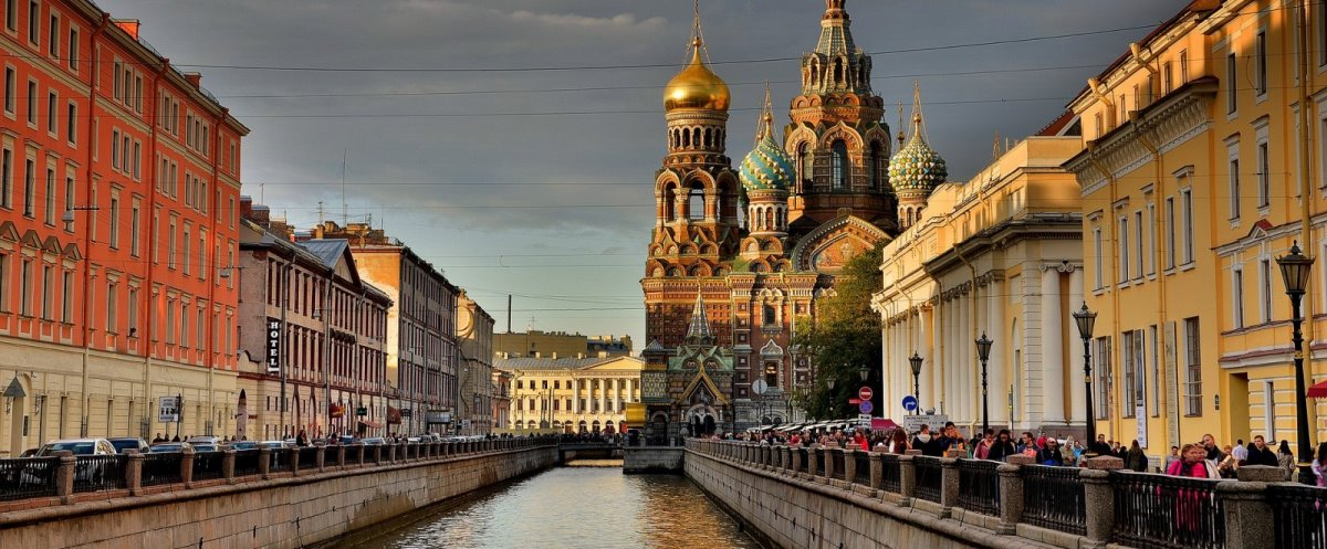Αγία Πετρούπολη κανάλια