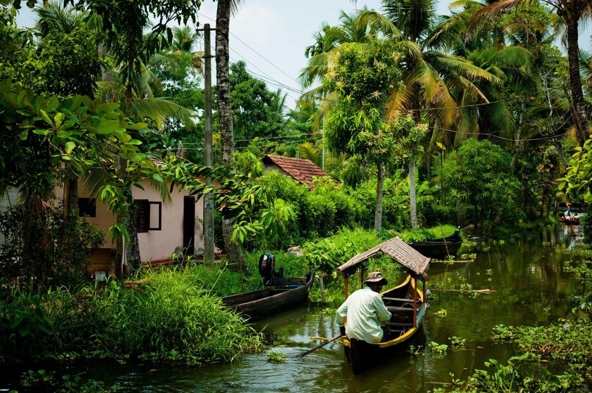 Κεράλα Ινδία κανάλια