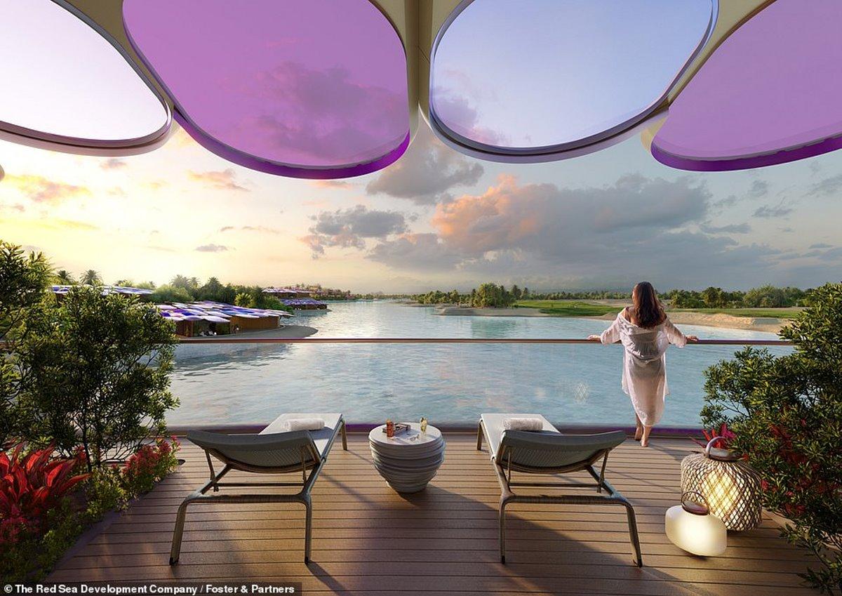 Θέα από τα δωμάτια του Coral Bloom Σαουδική Αραβία giga resort
