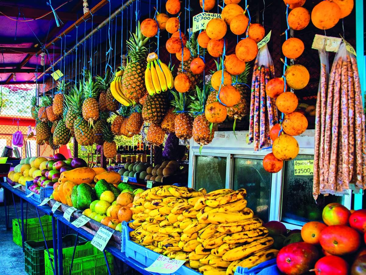 τροπικά φρούτα Κόστα Ρίκα