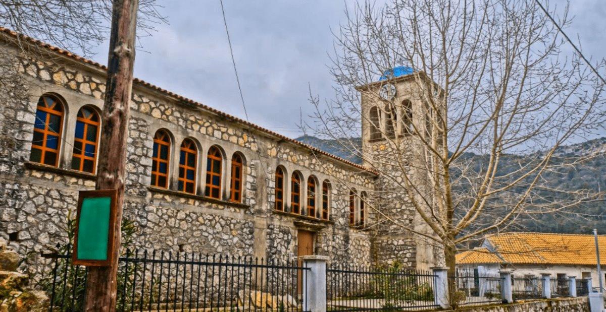 Εκκλησία στην Εγκλουβή λευκάδας