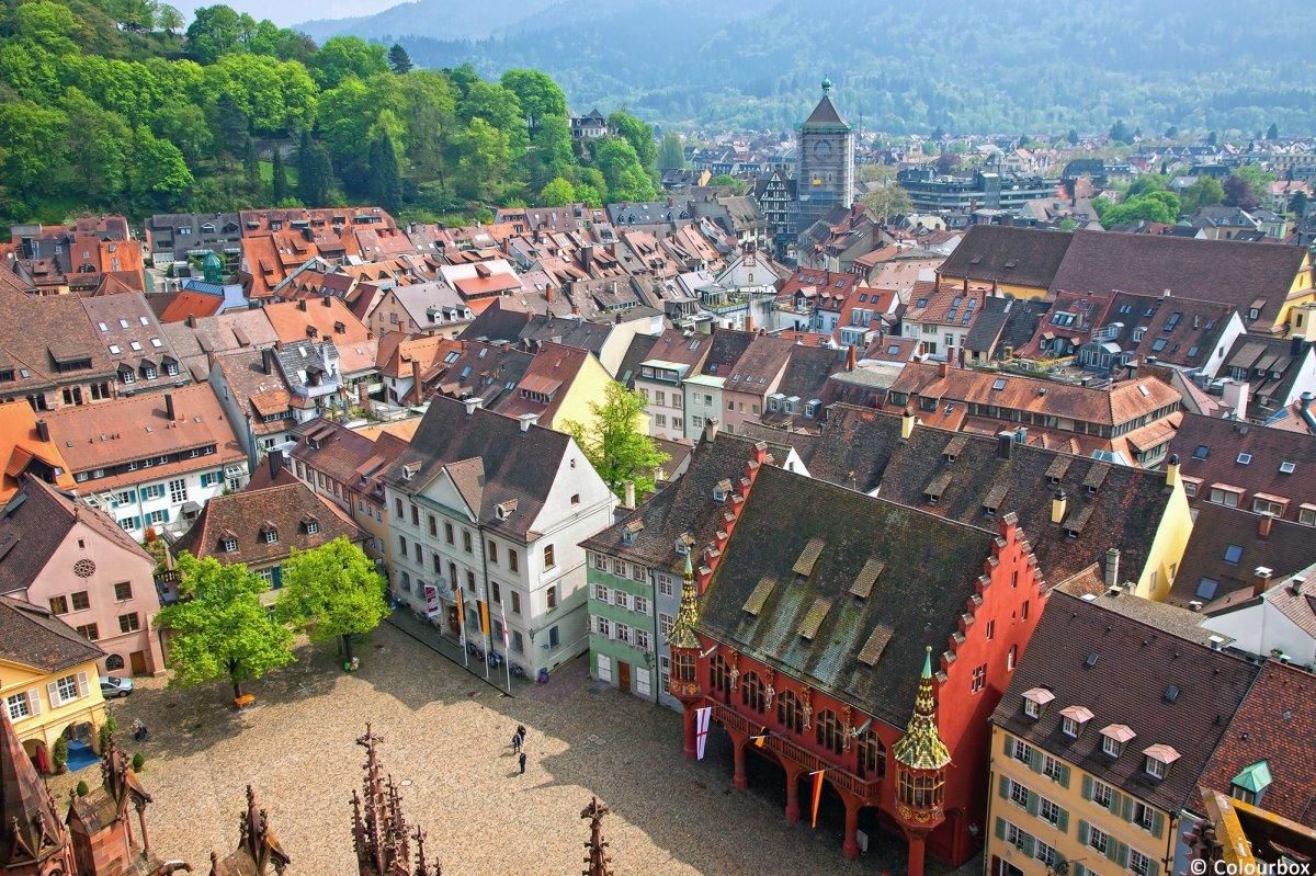 Freiburg Μέλανας Δρυμός