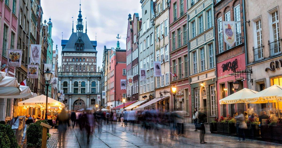 Γντανσκ Πολωνία βασιλικός δρόμος