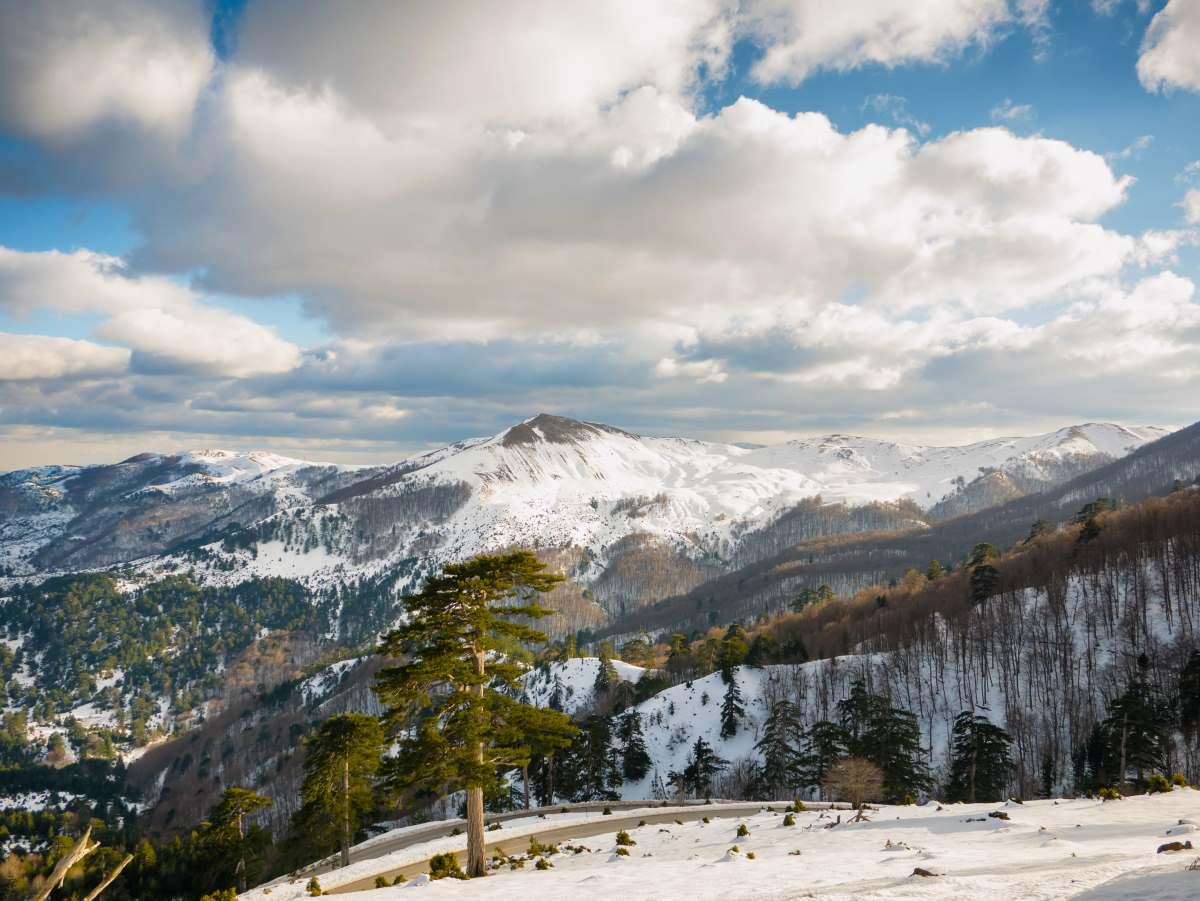 Χιονισμένο τοπίο Γρεβενά