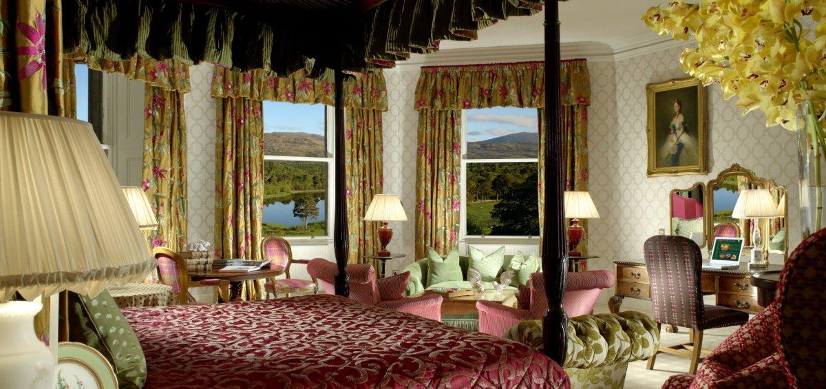 Δωμάτιο στο Inverlochy Castle Σκωτία