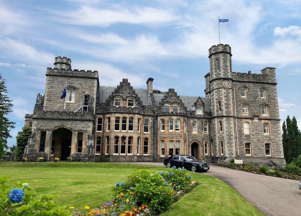 Inverlochy Castle Σκωτία ξενοδοχείο κάστρο