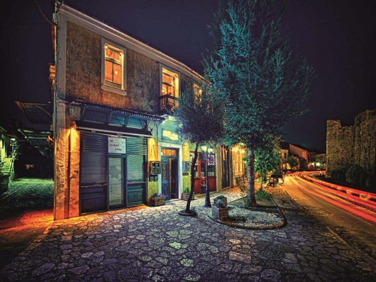 Σκάλα γειτονιά Ιωάννινα πόλη