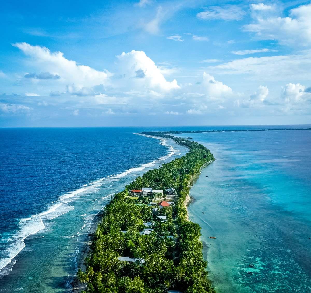 Νησί Τουβαλού, Ειρηνικός ωκεανός