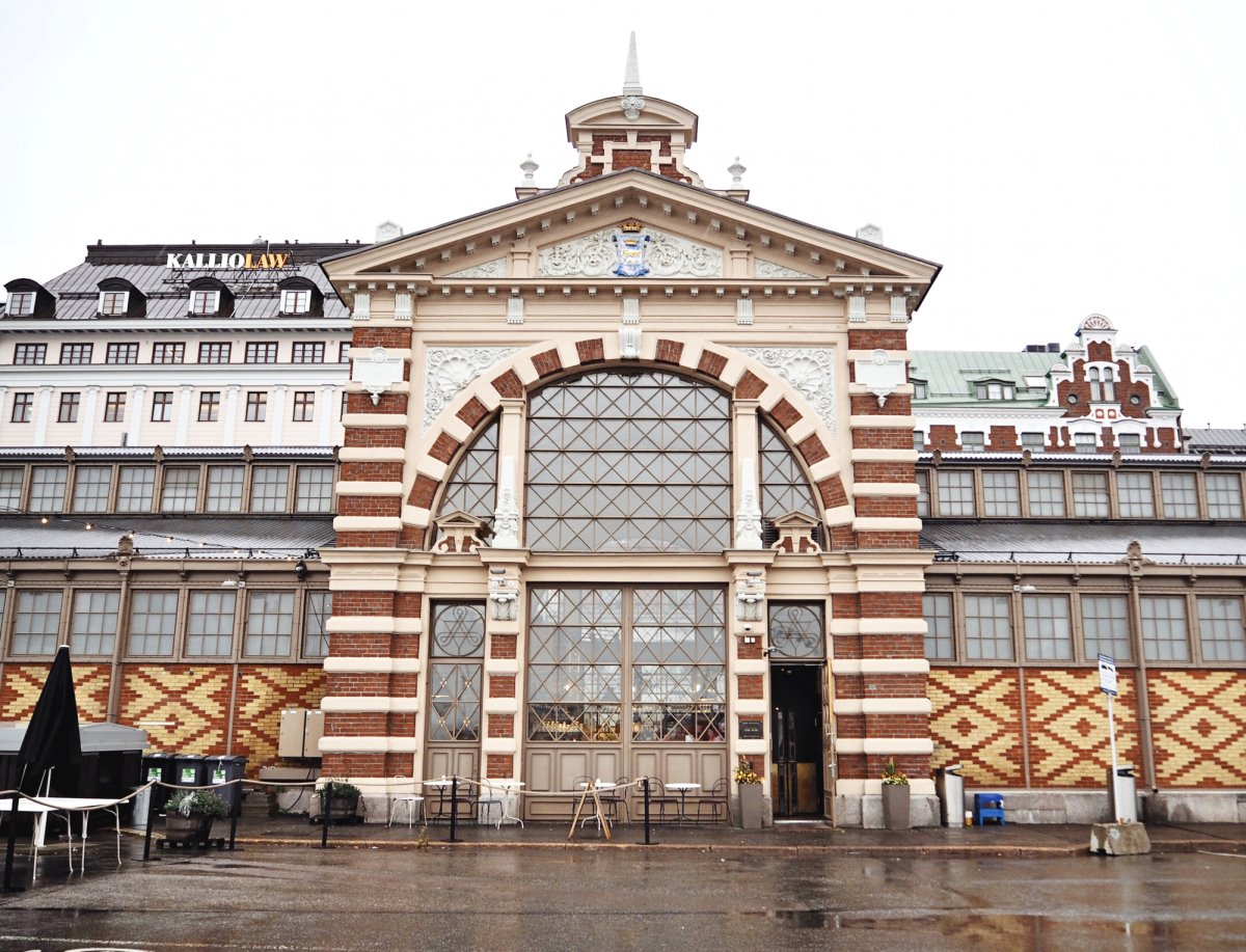 Ελσίνκι Παλιά Σκεπαστή Αγορά
